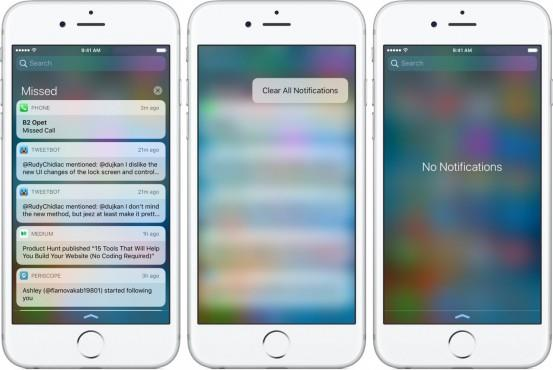 iOS-10-Notification-Center-clear-alerts-3D-Touch
