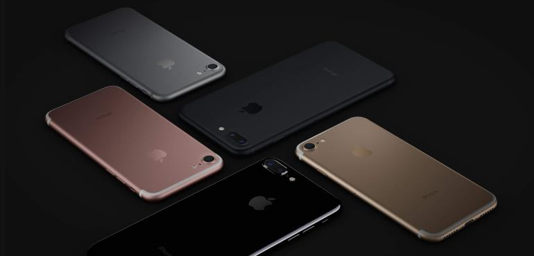 iPhone 7 and iPhone 7 Plus Colors