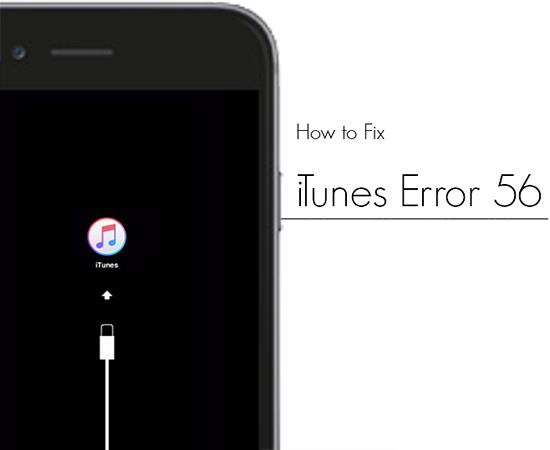 Ошибка 56 iTunes iPhone 6